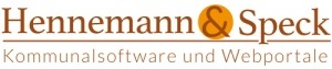 Logo von Hennemann und Speck, Software für Kommunen, CMS für Kommunen